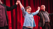See Jamie Brewer & the Cast of Amy and the Orphans Celebrate Opening Night