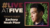 Broadway.com #LiveatFive with Zachary Noah Piser of Sweeney Todd