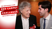 Hip Hop Don't Stoppard! The Cast of Travesties Gets Wordy in this Red Carpet Challenge on Opening Night