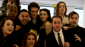 The Broadway.com Show: See the Cast of Off-Broadway's Puffs Roll Out the Red Carpet Ahead of Their Big Screen Debut
