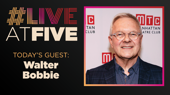 Broadway.com #LiveatFive with Walter Bobbie of Saint Joan