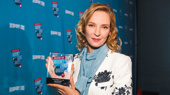 Uma Thurman deserves a trip to Paris after winning Favorite Leading Actress in a Play for The Parisian Woman.