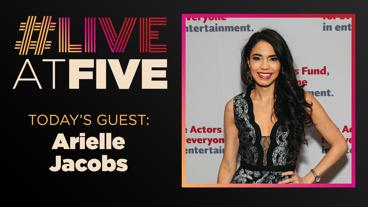 Broadway.com #LiveatFive with Arielle Jacobs of Aladdin