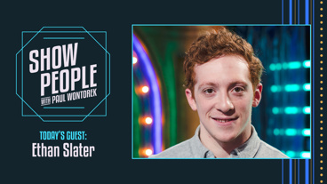 Show People with Paul Wontorek: Ethan Slater of SpongeBob SquarePants