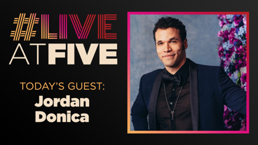 Broadway.com #LiveatFive with Jordan Donica of My Fair Lady