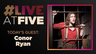 Broadway.com #LiveatFive with Conor Ryan of Desperate Measures