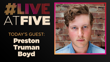 Broadway.com #LiveatFive with Preston Truman Boyd of The Play That Goes Wrong