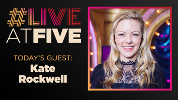 Broadway.com #LiveatFive with Kate Rockwell of Mean Girls