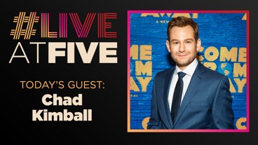 Broadway.com #LiveatFive with Chad Kimball of Come From Away