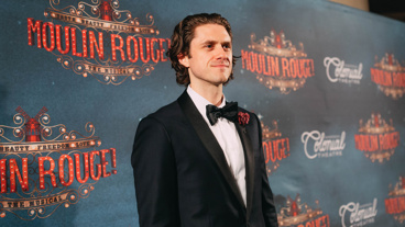 Moulin Rouge! star Aaron Tveit. See the new musical in Boston through August 19!