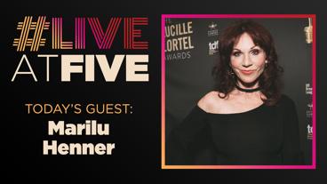 Broadway.com #LiveatFive with Marilu Henner of Gettin' the Band Back Together