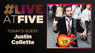 Broadway.com #LiveatFive with Justin Collette of School of Rock
