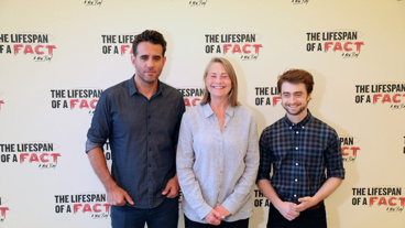 The Broadway.com Show: Check Your Sources! Watch Daniel Radcliffe, Cherry Jones & Bobby Cannavale Talk The Lifespan of a Fact