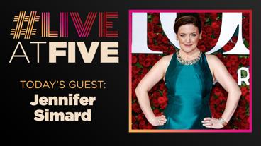 Broadway.com #LiveatFive with Jennifer Simard of Mean Girls