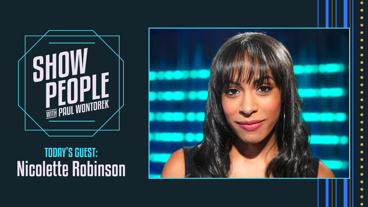 Show People with Paul Wontorek: Nicolette Robinson of Waitress