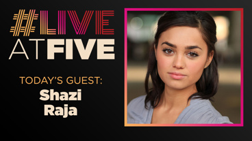Broadway.com #LiveatFive with Shazi Raja of <i>India Pale Ale</i>