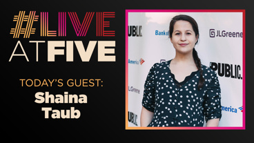 Broadway.com #LiveatFive with Shaina Taub