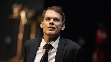 Michael C. Hall as Thom Pain in Thom Pain (based on nothing).