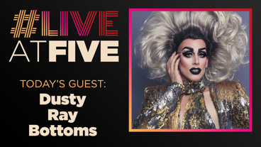 Broadway.com #LiveatFive with Dusty Ray Bottoms of Cleopatra