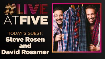 Broadway.com #LiveatFive with Steve Rosen and David Rossmer of <i>The Other Josh Cohen</i>