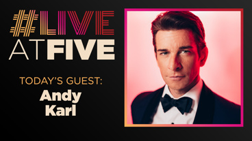 Broadway.com #LiveatFive with Andy Karl of Pretty Woman
