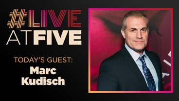 Broadway.com #LiveatFive with Marc Kudisch of Girl From the North Country
