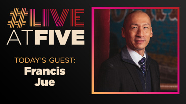 Broadway.com #LiveatFive with Francis Jue of Wild Goose Dreams