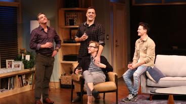 The cast of Daniel's Husband.