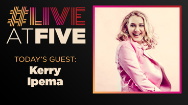 Broadway.com #LiveatFive with Kerry Ipema of One Woman Sex and the City