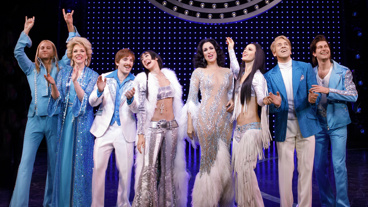 The cast of The Cher Show.