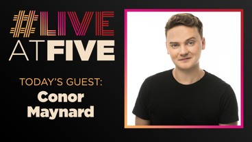 Broadway.com #LiveatFive with Conor Maynard of Kinky Boots