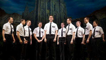 The cast of The Book of Mormon.