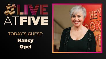 Broadway.com #LiveatFive with Nancy Opel of Wicked