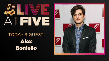 Broadway.com #LiveatFive with Alex Boniello of Dear Evan Hansen