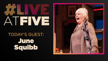 Broadway.com #LiveAtFive with June Squibb of Waitress