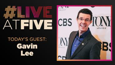 Broadway.com #LiveatFive with Gavin Lee of Dr. Seuss' How the Grinch Stole Christmas
