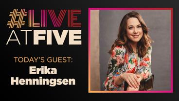 Broadway.com #LiveatFive with Erika Henningsen of Mean Girls