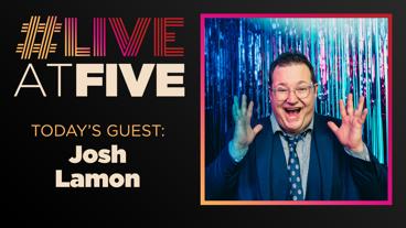 Broadway.com #LiveatFive with Josh Lamon of The Prom