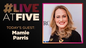 Broadway.com #LiveatFive with Mamie Parris of School of Rock