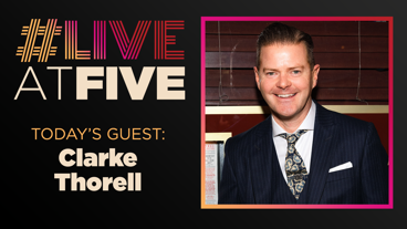 Broadway.com #LiveatFive with Clarke Thorell of My Fair Lady