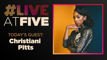 Broadway.com #LiveatFive with Christiani Pitts of King Kong