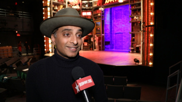 <i>The Broadway.com Show</i>: Manu Narayan and and the Cast of Fiasco's <i>Merrily We Roll Along</i> on Getting Stephen Sondheim's Stamp of Approval