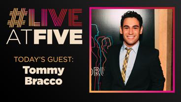 Broadway.com #LiveatFive with Tommy Bracco of Pretty Woman