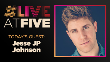 Broadway.com #LiveAtFive with Jesse JP Johnson from Wicked