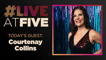 Broadway.com #LiveAtFive with Courtenay Collins from The Prom