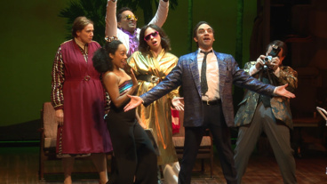Here's to Us! Watch Clips from Fiasco Theater's Reimagined Merrily We Roll Along