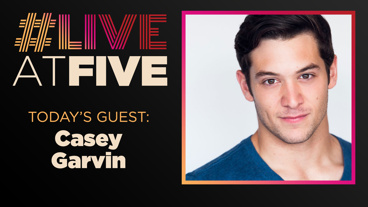 Broadway.com #LiveatFive with Casey Garvin of King Kong