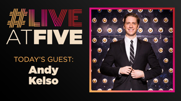 Broadway.com #LiveatFive with Andy Kelso of Kinky Boots