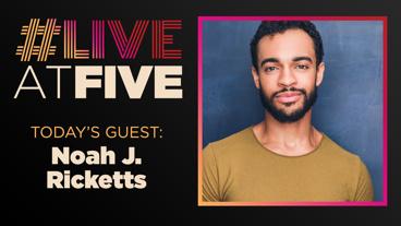 Broadway.com #LiveatFive with Noah J. Ricketts of Frozen