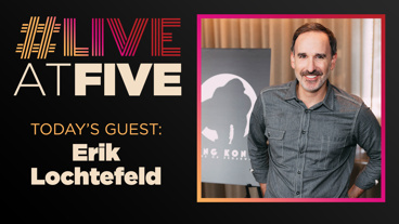 Broadway.com #LiveatFive with Erik Lochtefeld of King Kong